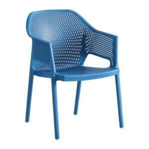 exteriérová stolička GA-MINUSH-pohľad spredu