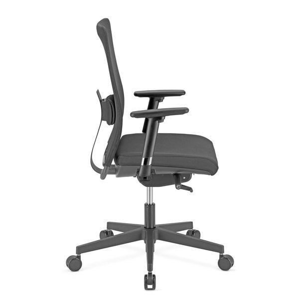 čierna kancelárska stolička NS-Intrata