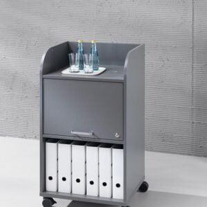 sivý kancelársky kontajner NS-Caddy Easy Space
