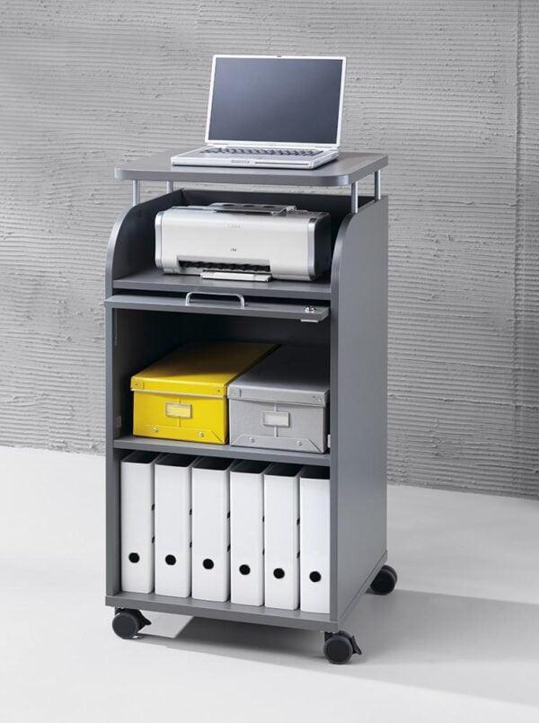 sivý kancelársky kontajner NS-Caddy-Easy Space