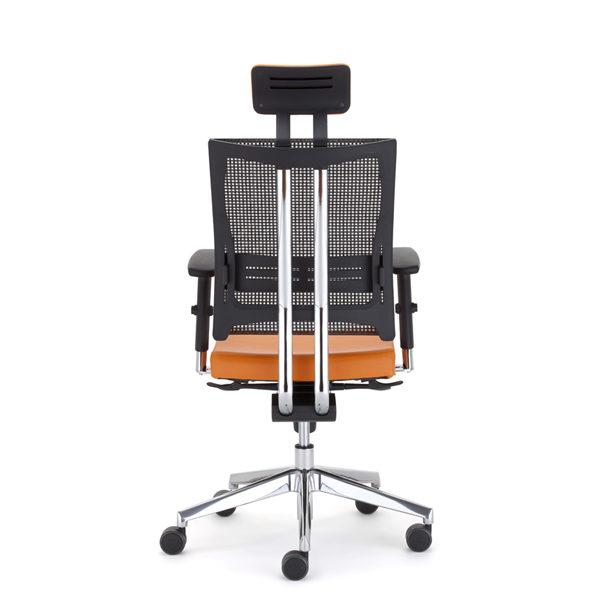 oranžová kancelárska stolička NS-@-motion
