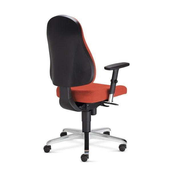 oranžová kancelárska stolička NS-Bizzi