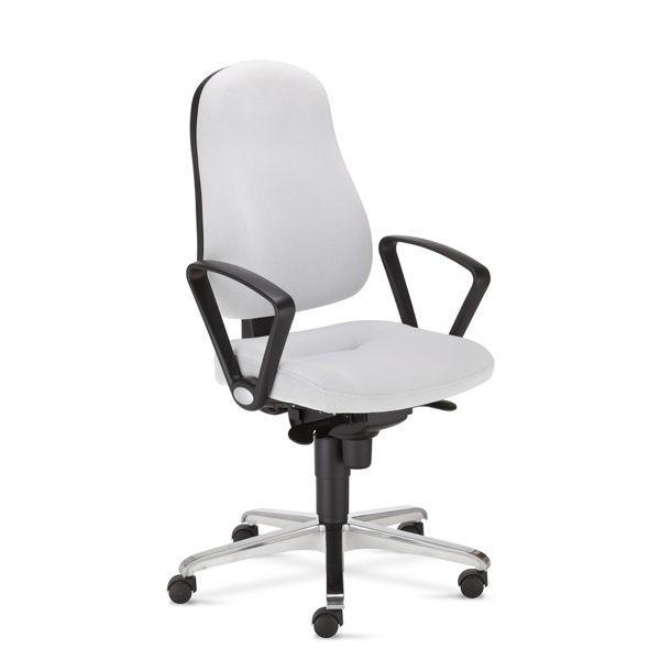 biela kancelárska stolička NS-Bizzi