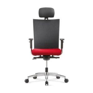 červená kancelárska stolička NS-Extra