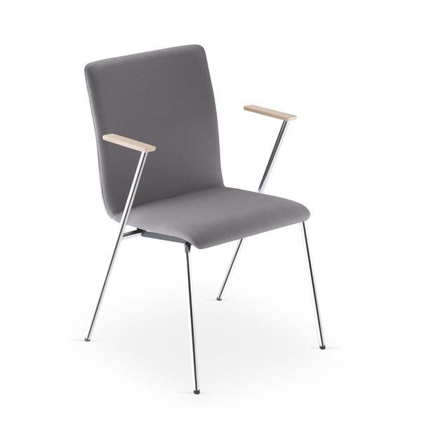 sivá stolička NS-Fen