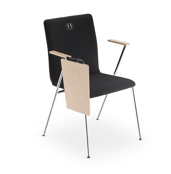 čierna stolička NS-Fen