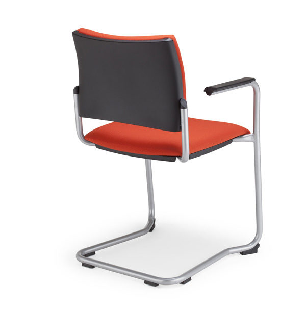 oranžová stolička NS-Intrata Visitor