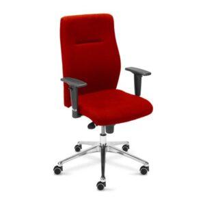 červená kancelárska stolička NS-Orlando