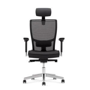 čierna kancelárska stolička NS-Z-Body