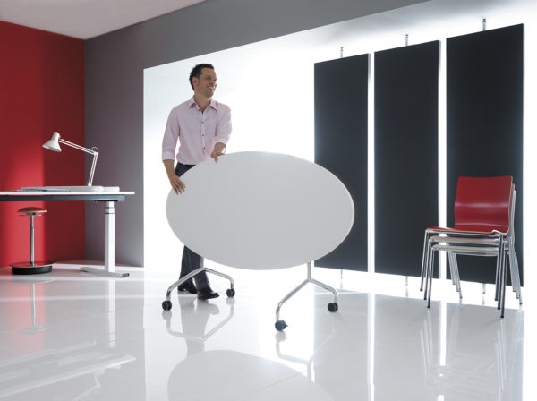 rokovací mobilný stôl NS-Flib