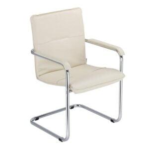 rokovacia stolička NS-Rumba-biela