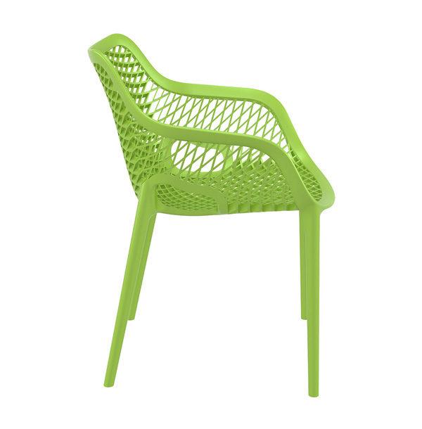 zelená stolička SI-AIR XL