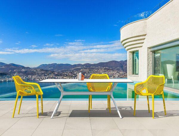 žltá stolička SI-AIR XL