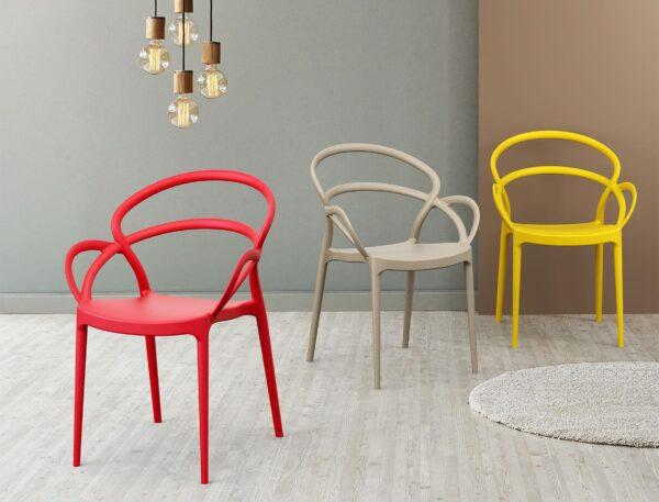 farebné stoličky SI-MILA