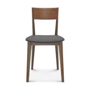 Jedálenská stolička SRA-0620 Fame s čalúneným sedadlom