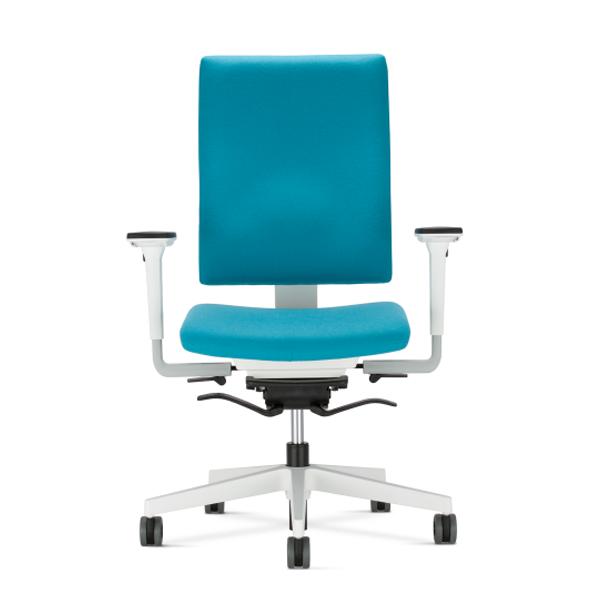modrá kancelárska stolička NS-4ME