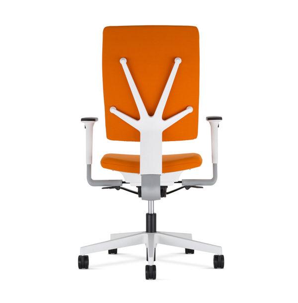 oranžová kancelárska stolička NS-4ME