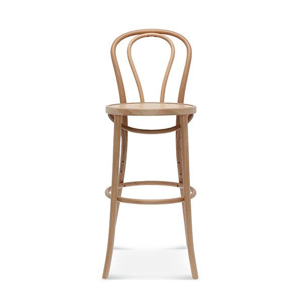 Drevená barová stolička SRBST-18