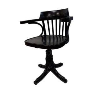 Nečalúnená otočná stolička s podrúčkami SRB-9451 AKCIA