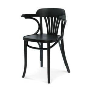 Jedálenská stolička s podrúčkami SRB-165