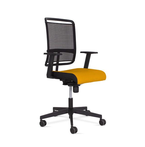 kancelárska stolička NS-@-sense-oranžová