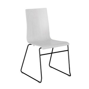 stolička na čieirnej podnoži NS-Cafe VII CFS