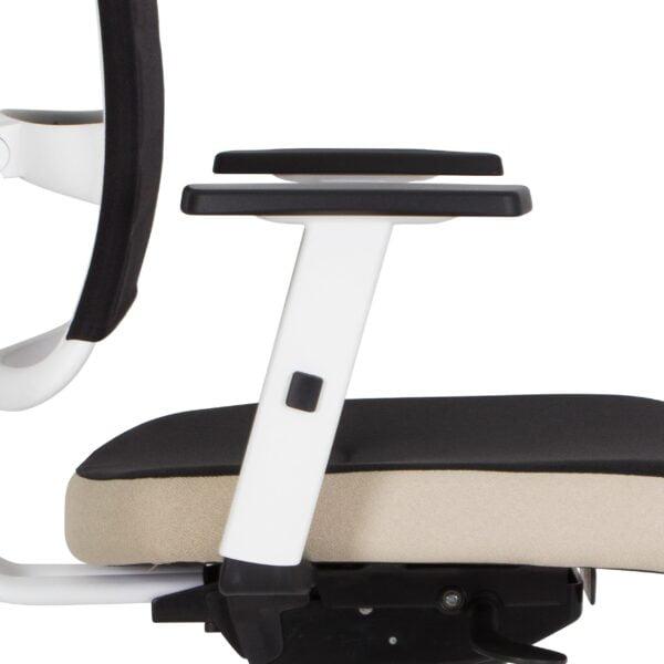 kancelárska stolička NS-@-sense-biela kostra