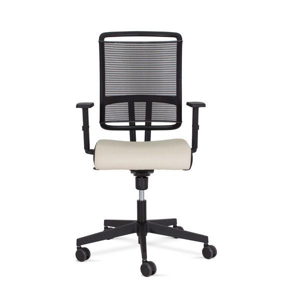 kancelárska stolička NS-@-sense-biela