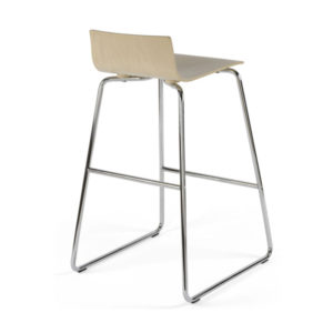 barová stolička z preglejky NS-Cafe VII Hocker