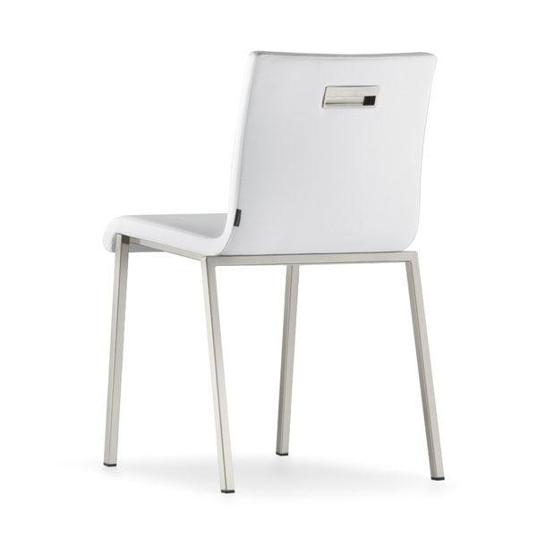 luxusná stolička na kovových nohách PE-Kuadra XL 2491