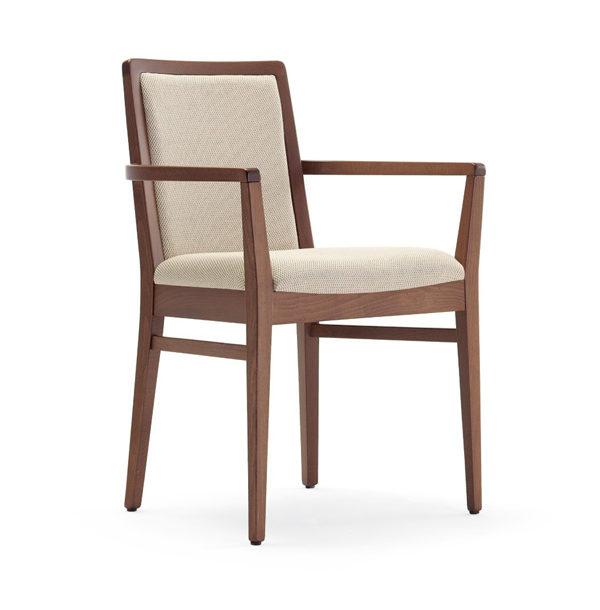 Stolička s podrúčkami TL-Giada 1P