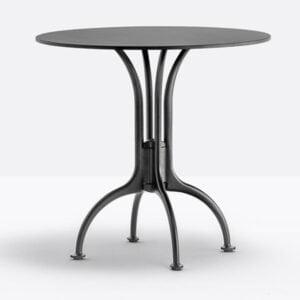 čierna stolová noha PE-Florence