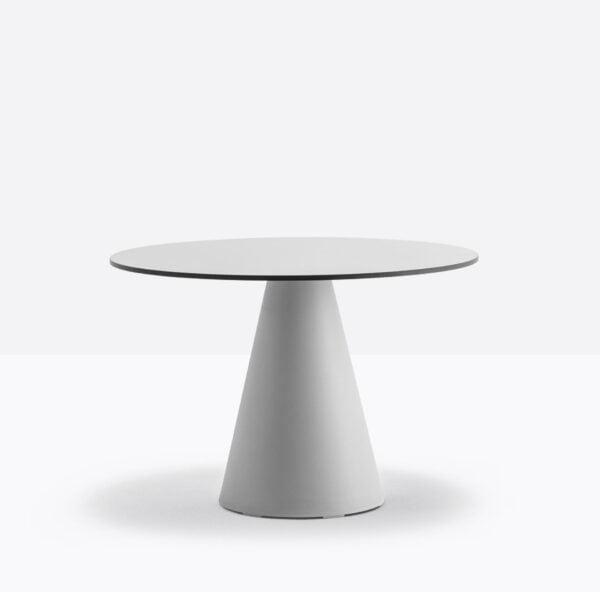 Sivá stolová noha PE-Ikon 863