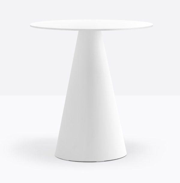 Biela stolová noha PE-Ikon 865