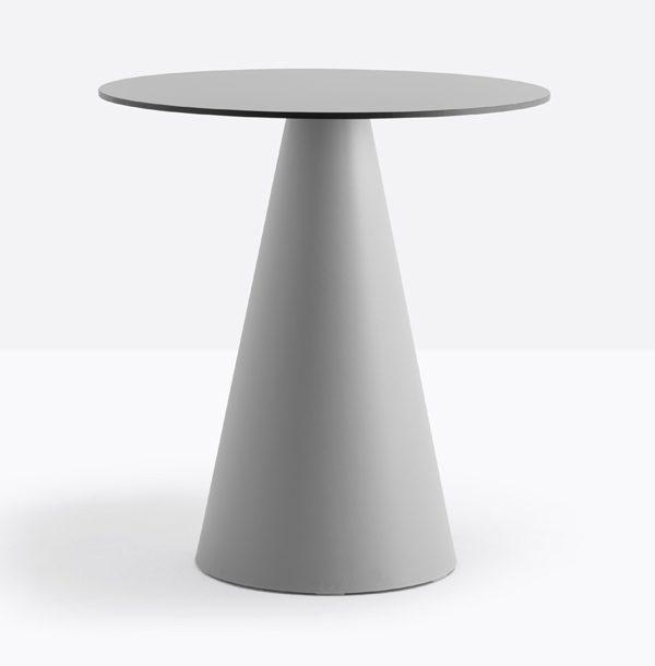 Sivá stolová noha PE-Ikon 865