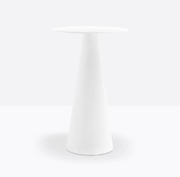 Biela stolová noha PE-Icon 867