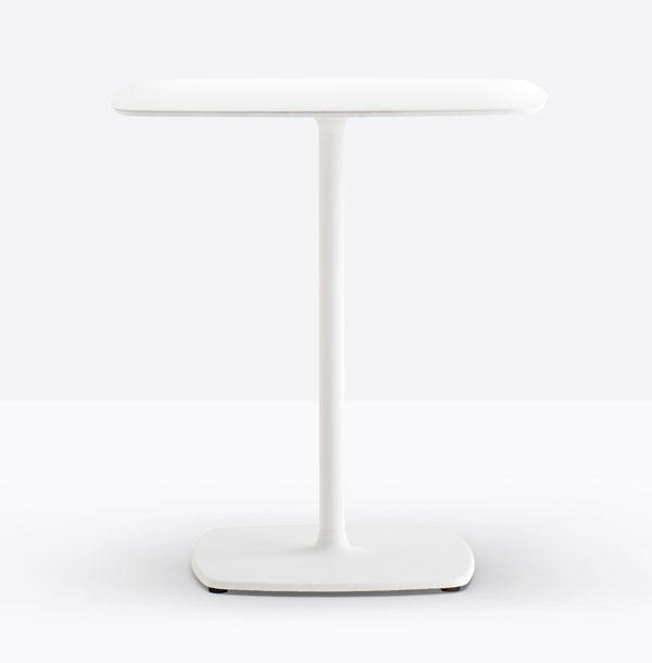 Biela stolová noha PE-Stylus 5400