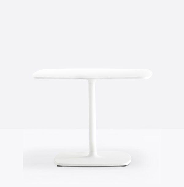biela stolová noha PE-Stylus 5403