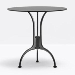 čierna stolová noha PE-Venice