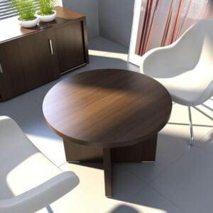 Rokovací okrúhly stôl MD-Quando