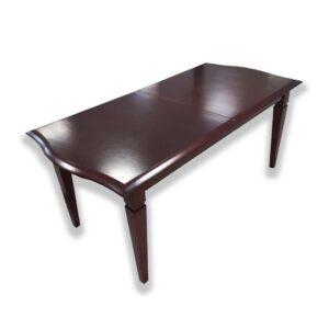 Stôl SRST-0809/0133 v mahagónovom prevedení.