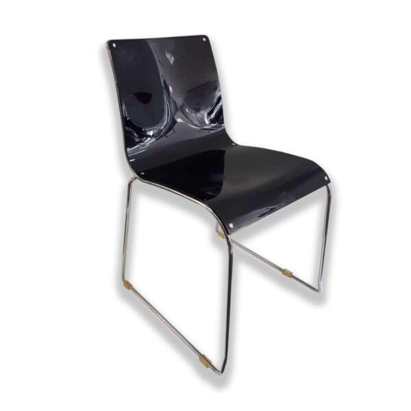 Stolička na kovovej podnoži CAL-Irony CS/97-P