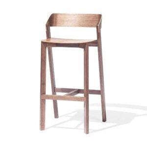 Drevená barová stolička STBST-Merano