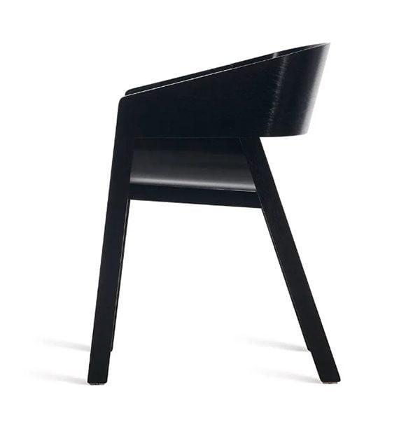 Dizajnové drevené kreslo STB-Merano