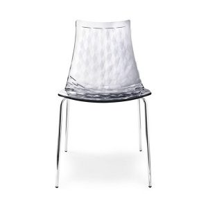 Stolička s kovovými nohami CAL- Ice CS/1038