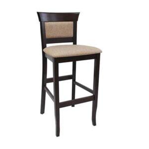 Drevená barová stolička SPBST-3625