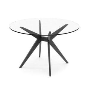 Okrúhly jedálenský stôl CAL-Kent 4105RD