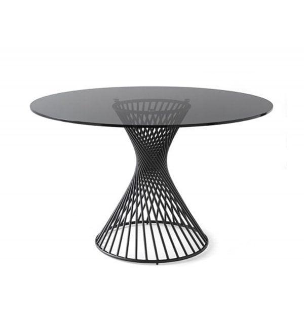 Okrúhly jedálenský stôl CAL-Vortex 1408RD
