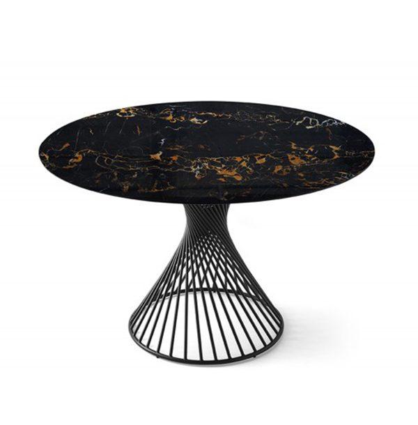 Okrúhly jedálenský stôl CAL-Vortex 4108RD