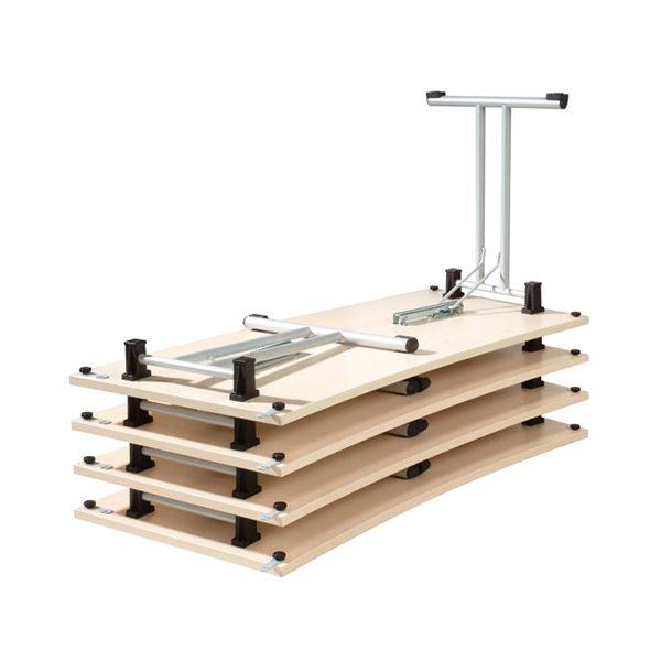 Zložený skladací stôl NS-Eryk